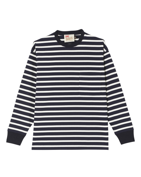【MEN'S】CREWNECK LONG SLEEVE T-SHIRTS
