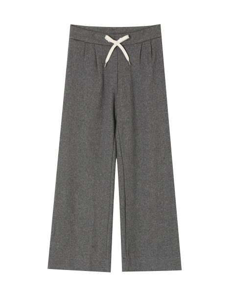 WIDE SWEAT PANTS