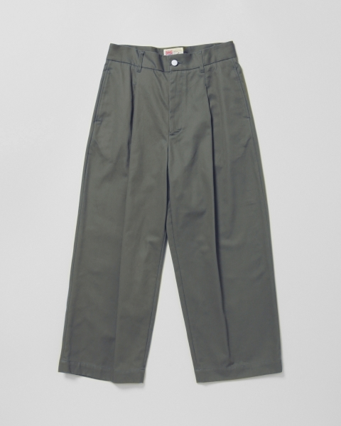 【MEN'S】MILITARY PANTS WITH BACK BELT