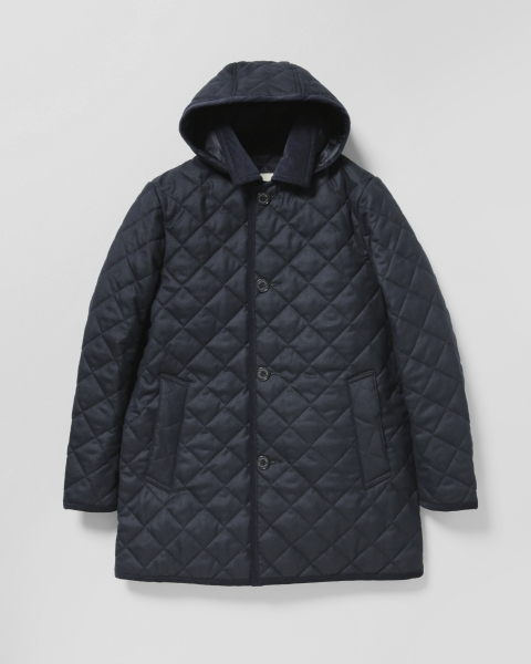 【MEN'S】DERBY HOOD QUILTED