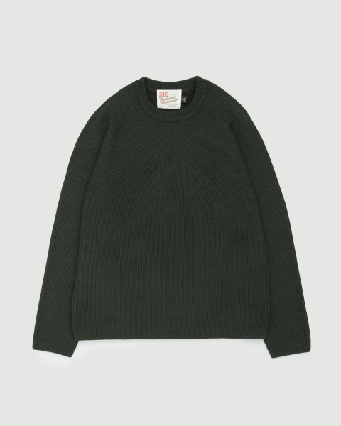 【MEN'S】RIB STITCH CREWNECK KNIT