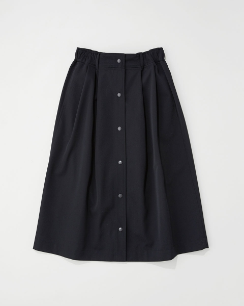 ELASTIC WAIST GATHERED SKIRT