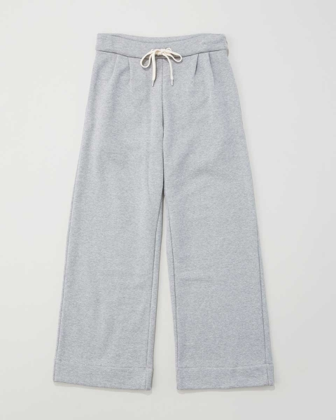 WIDE SWEAT FLAIR PANTS