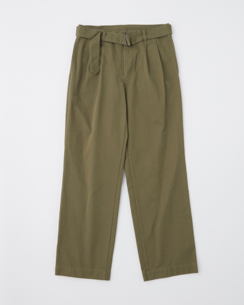 【MEN'S】WORK PANTS WIDE WITH BELT ワークパンツ ワイド ウィズ ベルト