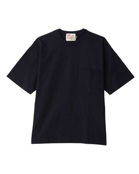【MEN'S】CREWNECK DROP SHOULDER T-SHIRTS