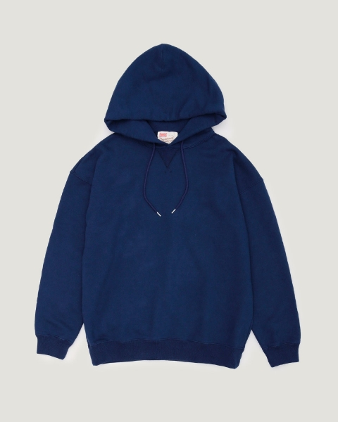 【MEN'S】QUILTED PACTH PULL OVER PARKA