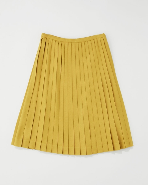PLEAT MIDDLE SKIRT プリーツ ミドルスカート