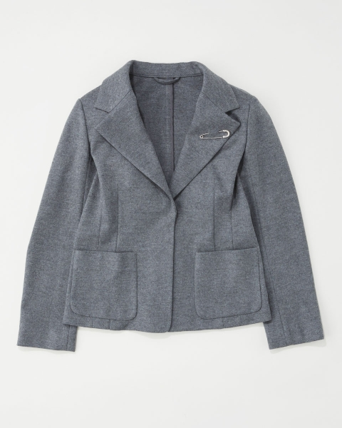 SINGLE JACKET WITH PIN