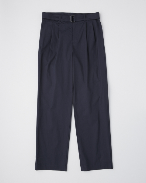 【MEN'S】WORK PANTS WIDE WITH BELT      ワークパンツワイド ウィズ ベルト