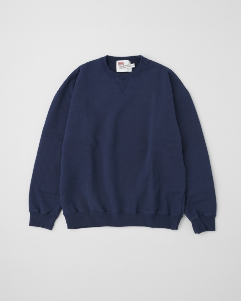 【MEN'S】QUILTED PATCH CREW NECK PULL OVER キルテッドパッチ クルーネック プルオーバー
