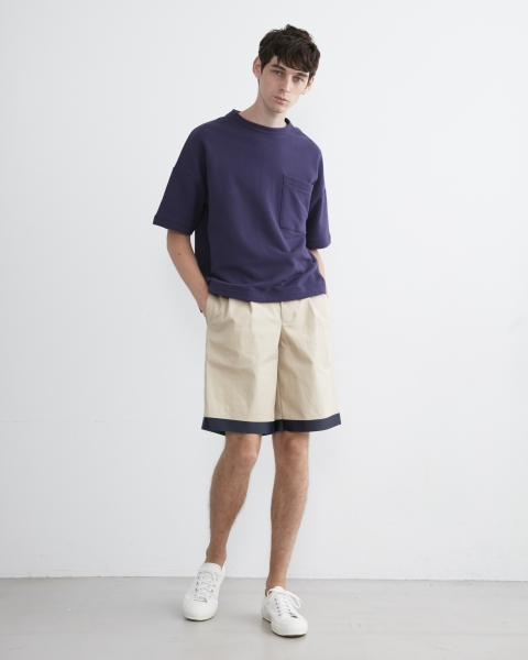 【MEN'S】BIG T-SHIRTS WITH POCKET