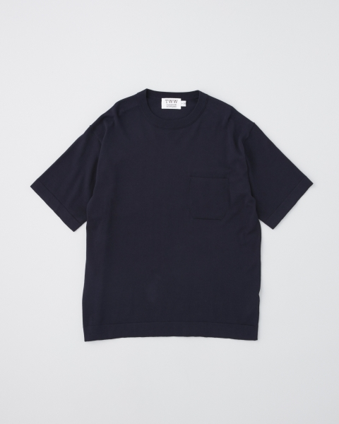 【MEN'S】KNIT T-SHIRTS ニット Tシャツ