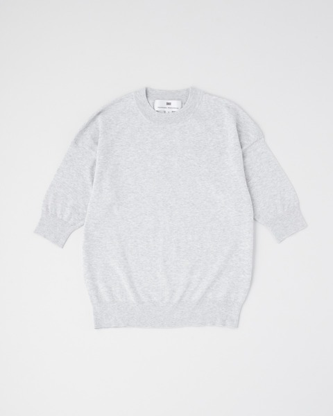 HIGH GAUGE MIDDLE SLEEVE PULL OVER