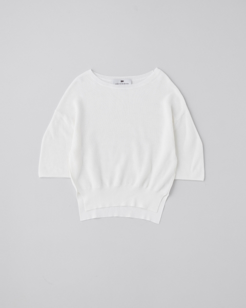 CREW NECK MIDDLE SLEEVE TOP       クルーネック ミドルスリーブ トップ